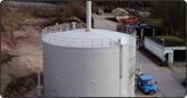 Neubau Gaslagerbehälter - Kläranlage Kleinschwarzenlohe