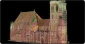 Rekonstruktion Bauhistorie St. Sebald, Nürnberg