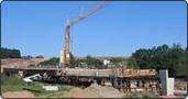 Neubau der Bibertbrücke in Zirndorf