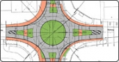 Markt Wendelstein: Neubau eines Kreisverkehrsplatzes