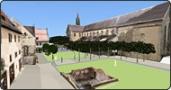 Neugestaltung Münsterumfeld, Heilsbronn